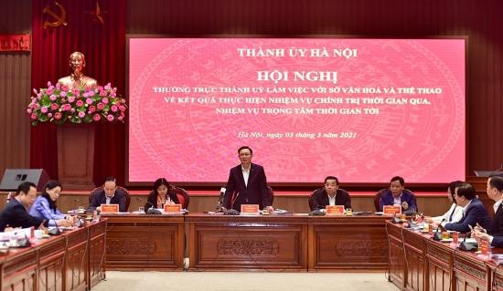 Hà Nội: Tạo đột phá về chính sách để nâng cao vị thế Thủ đô trong lĩnh vực văn hóa, thể thao