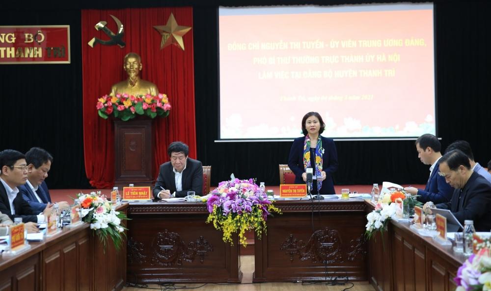 Xây dựng huyện Thanh Trì trở thành quận mới, hiện đại, văn minh