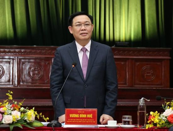 Bí thư Thành ủy Vương Đình Huệ: Huyện Gia Lâm cần lấy văn hóa làm nền tảng, động lực cho phát triển