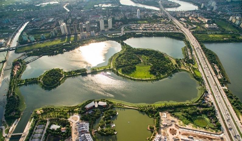 Công viên Yên Sở là một trong những công viên xanh lớn nhất Hà Nội