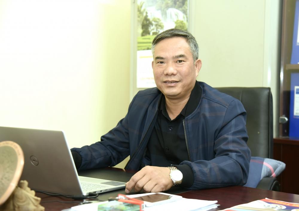Chủ tịch Ủy ban nhân dân xã Hồng Dương Nguyễn Duy Hùng