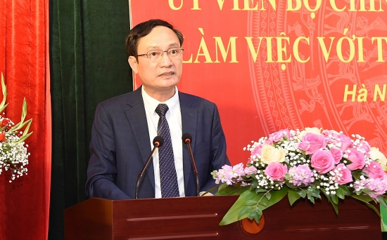 Trường Đào tạo cán bộ Lê Hồng Phong mong được tháo gỡ 6 nhóm vấn đề