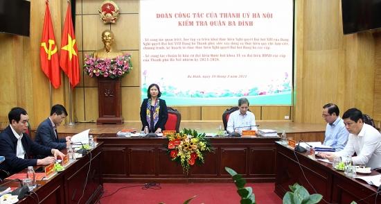 Phó Bí thư Thường trực Thành uỷ Hà Nội: Quận Ba Đình là điểm sáng về học tập Nghị quyết trực tuyến