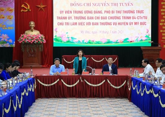 Phó Bí thư Thường trực Thành ủy Hà Nội: Khai thác hiệu quả di tích Quốc gia đặc biệt chùa Hương