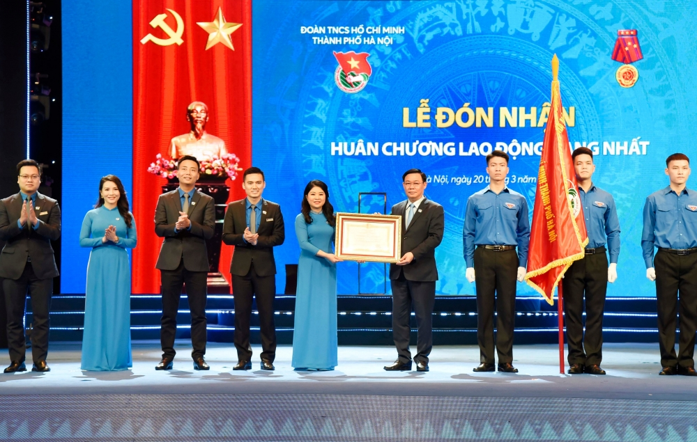 Đoàn Thanh niên thành phố Hà Nội đón nhận phần thưởng cao quý của Đảng, Nhà nước