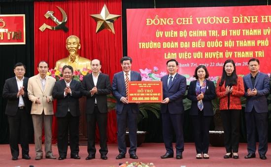 Rà soát nguồn lực để cập nhật chiến lược phát triển huyện Thanh Trì thành quận