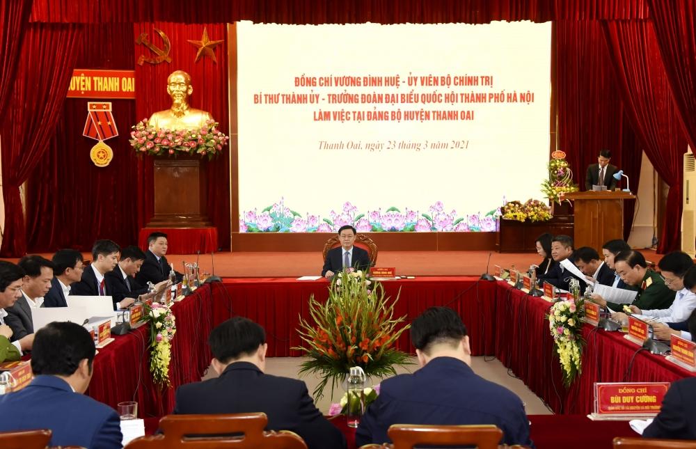 Huyện Thanh Oai phấn đấu đến năm 2028 thành quận