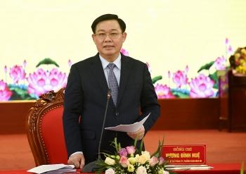 Bí thư Thành ủy Vương Đình Huệ: Khơi dậy ý chí, khát vọng phát triển huyện Thanh Oai lên quận