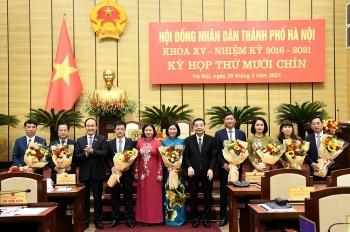 Hà Nội: Bầu bổ sung 7 Ủy viên Ủy ban nhân dân Thành phố