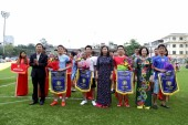 Khai mạc Giải Bóng đá mini Cúp báo Lao động Thủ Đô lần thứ III