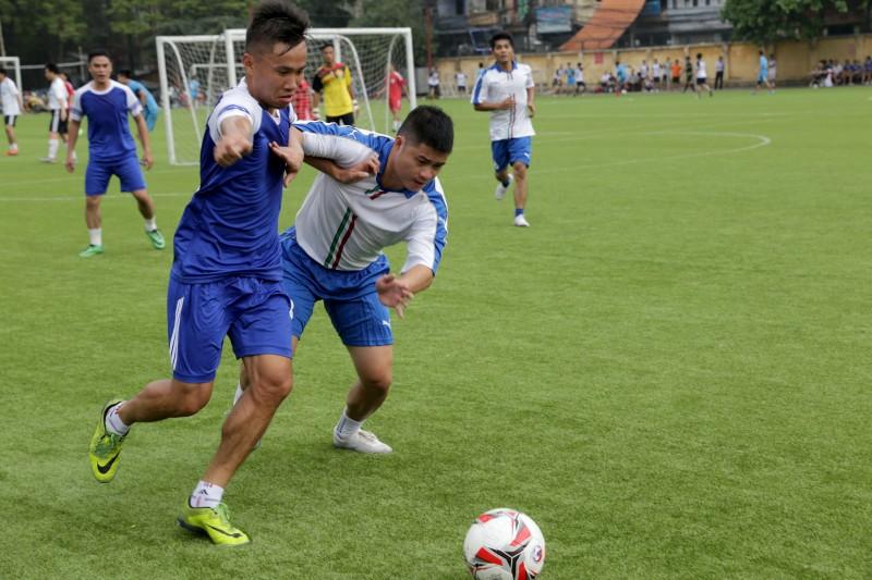 Kết quả thi đấu ngày thứ nhất giải bóng đá tranh Cúp Báo Lao động Thủ đô lần thứ III