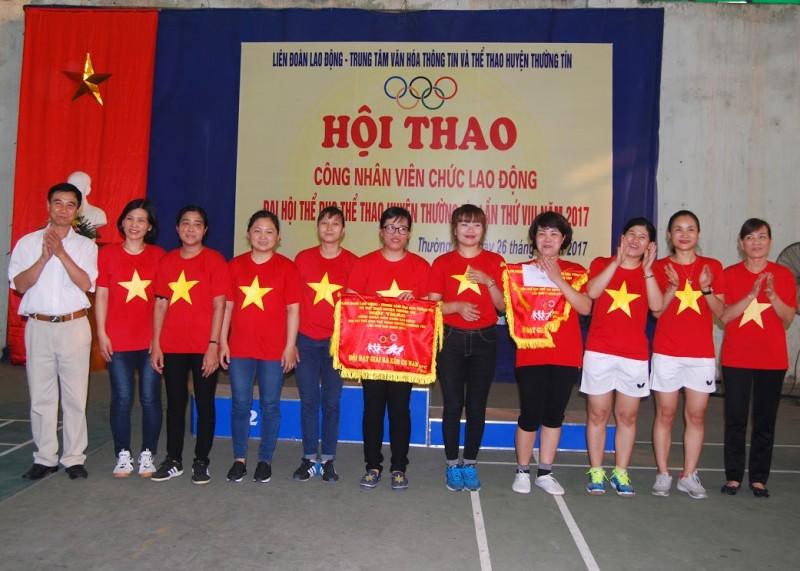 Hội thao CNVCLĐ huyện Thường Tín năm 2017