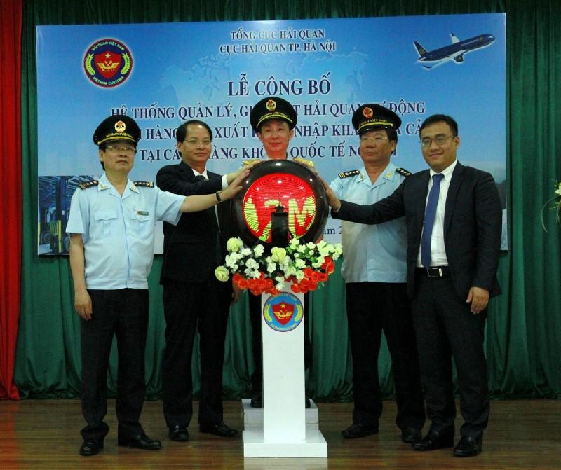 Công bố hệ thống quản lý, giám sát hải quan tự động tại sân bay Nội Bài
