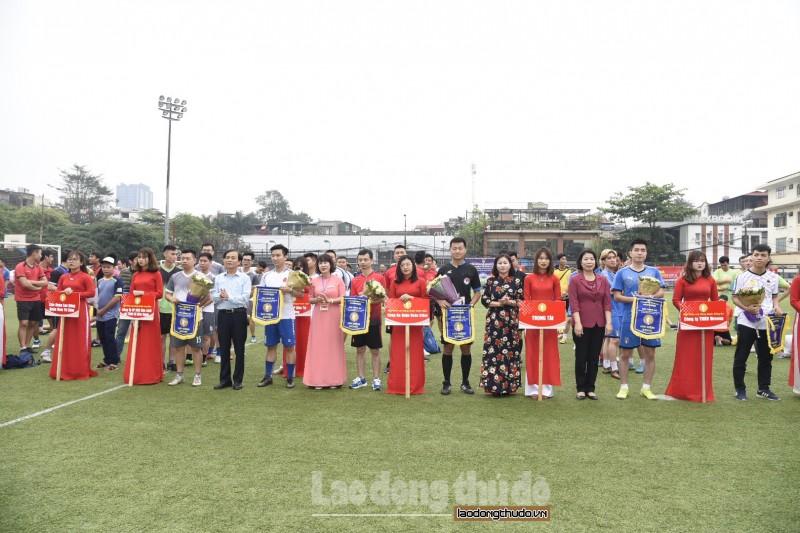 Khai mạc Giải Bóng đá Cúp báo Lao động Thủ đô lần thứ V