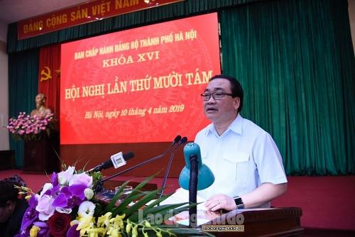 Bí thư Thành ủy Hoàng Trung Hải: Cần tiếp tục làm tốt công tác dự báo, nắm bắt tình hình cơ sở
