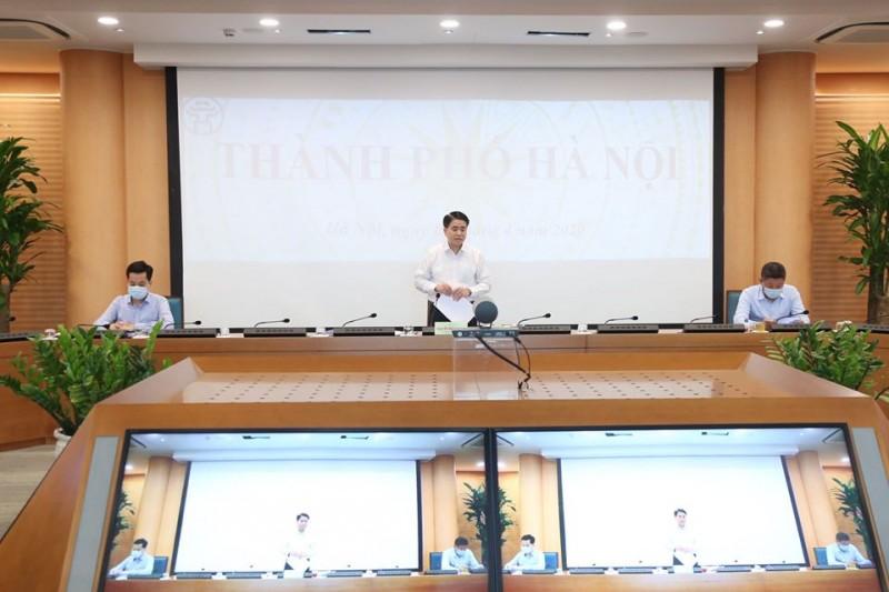 Chủ tịch UBND Thành phố: Hà Nội đã có 3 kịch bản ứng phó tác động của dịch Covid -19