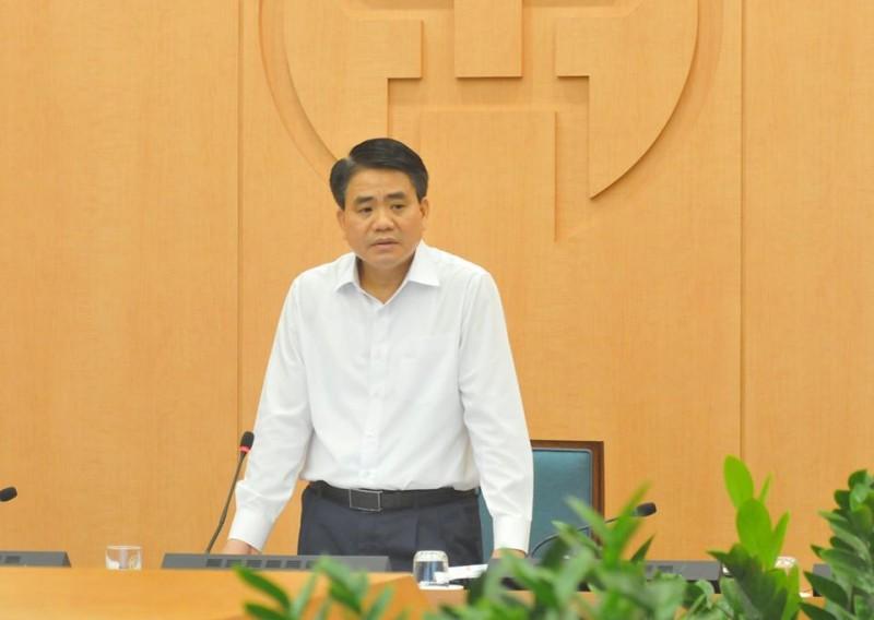 Chủ tịch UBND Thành phố Hà Nội: Xử phạt những trường hợp đi ra đường không đúng diện được ra