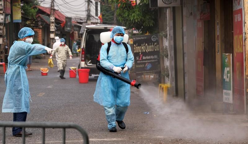 Phó Công an phường Đông Ngạc có tiếp xúc gần với bệnh nhân 243 mắc Covid-19