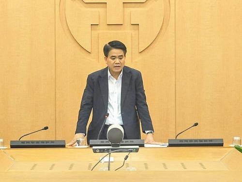 """Chủ tịch Nguyễn Đức Chung: Không được bỏ sót trường hợp nào có yếu tố """"Bạch Mai"""""""