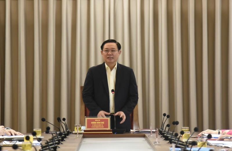 Bí thư Thành ủy Vương Đình Huệ: Báo chí Thủ đô phải đi đầu trong chuyển đổi số