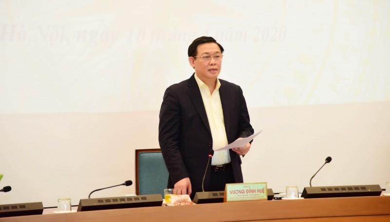 Bí thư Thành ủy Hà Nội đề xuất một số vấn đề tháo gỡ khó khăn cho Thủ đô