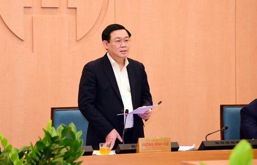 Bí thư Thành ủy Hà Nội: Thực hiện giãn cách xã hội như chấp hành mệnh lệnh trong thời chiến