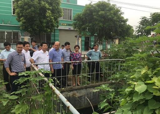 Hà Nội: Giám sát hoạt động xử lý nước thải tại các cụm công nghiệp