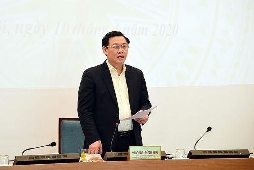Bí thư Thành ủy Hà Nội: Mong các doanh nghiệp, nhà đầu tư hiến kế cho Hà Nội duy trì đà tăng trưởng
