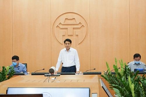 Chủ tịch UBNDTP Hà Nội Nguyễn Đức Chung chỉ đạo lập đoàn liên ngành kiểm tra việc mua sắm trang thiết bị y tế