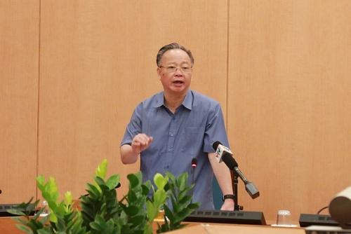 Đồng chí Nguyễn Văn Sửu sẽ điều hành hoạt động của Ủy ban nhân dân thành phố Hà Nội