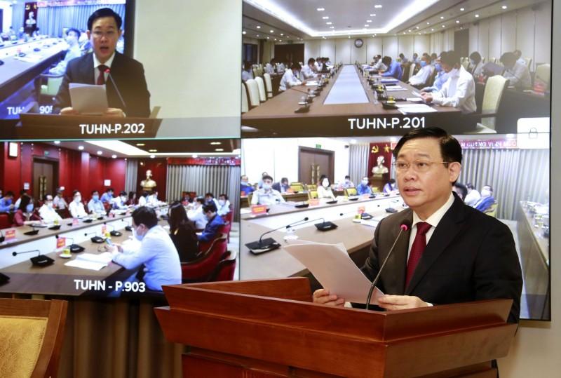 Bí thư Thành ủy Hà Nội: Tập trung nghiên cứu giải pháp để phục hồi và phát triển kinh tế Thủ đô