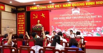 Thanh Oai: 56 người ứng cử đại biểu Hội đồng nhân dân huyện
