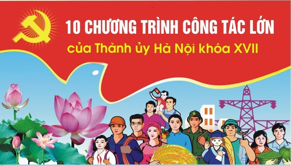 Hà Nội tổ chức hội nghị trực tuyến triển khai 10 chương trình công tác toàn khóa