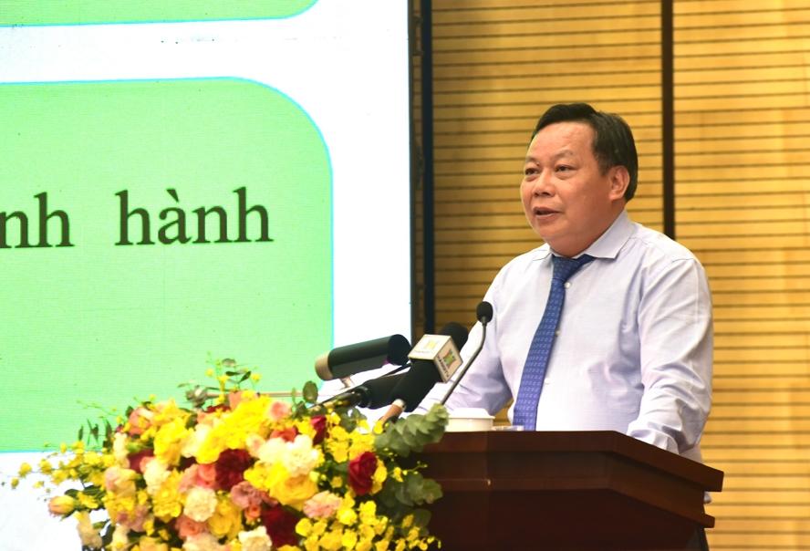 Phó Bí thư Thành ủy Hà Nội Nguyễn Văn Phong quán triệt nội dung các Chương trình công tác của Thành ủy
