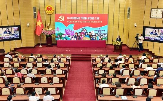 Hà Nội hoàn thành bước quan trọng để đưa Nghị quyết của Đảng vào cuộc sống