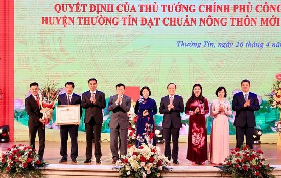 Thường Tín cán đích huyện nông thôn mới