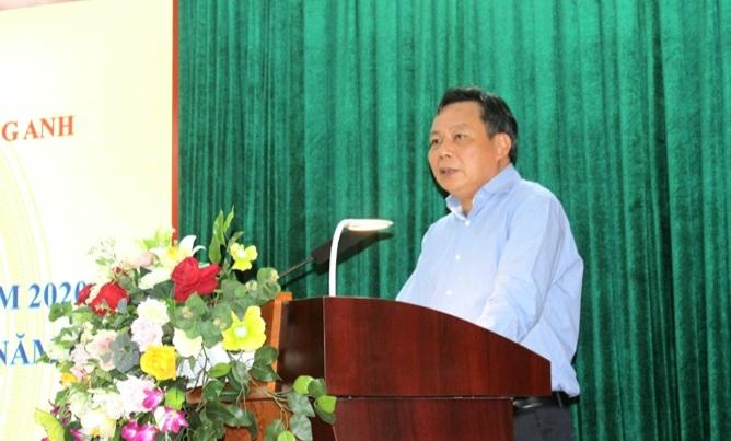 Phó Bí thư Thành ủy Hà Nội Nguyễn Văn Phong phát biểu tại hội nghị