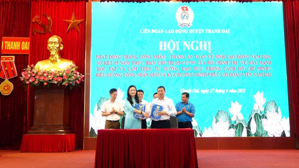 Liên đoàn Lao động huyện Thanh Oai