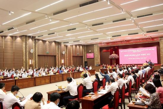 Khai mạc Hội nghị lần thứ tư Ban Chấp hành Đảng bộ thành phố Hà Nội khóa XVII