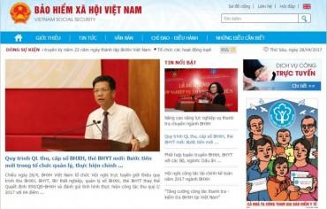 BHXH Việt Nam ra mắt Cổng thông tin điện tử phiên bản nâng cấp