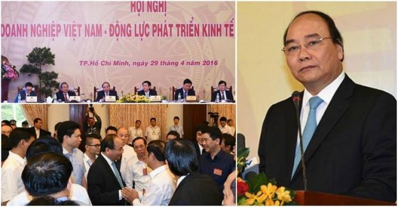 Họp báo về Hội nghị Thủ tướng Chính phủ với doanh nghiệp năm 2017