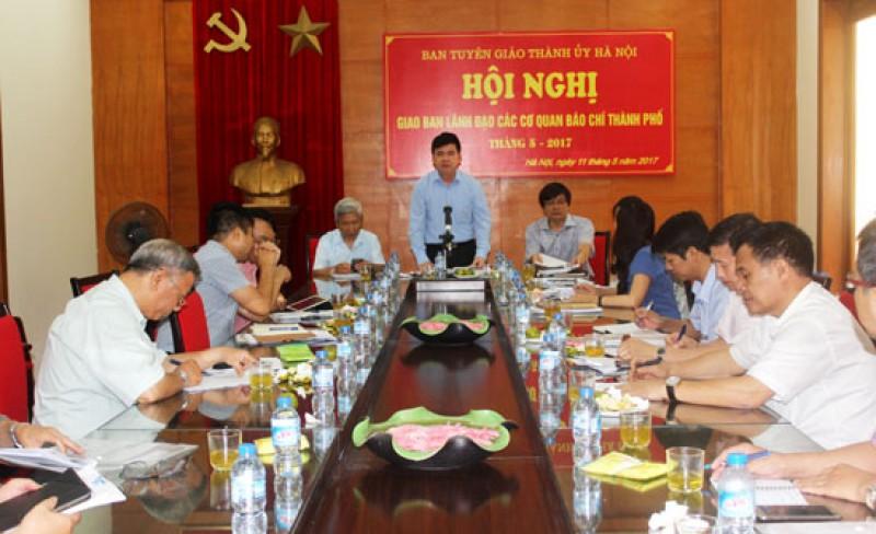 Báo chí Thủ đô đã bám sát các nhiệm vụ chính trị của Thành phố
