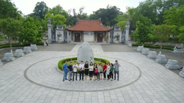 Đền Hai Bà Trưng: Một điểm hẹn du lịch văn hóa tâm linh giá trị