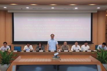 Bí thư Hoàng Trung Hải: Xử lý nghiêm lãnh đạo địa phương nếu để vi phạm trật tự đô thị