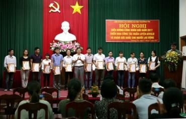 Thường Tín tuyên dương 44 công nhân lao động giỏi tiêu biểu