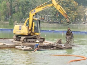 Sắp tiến hành cải tạo hồ Hoàn Kiếm