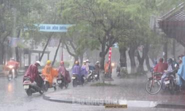 Hôm nay (28/3): Nhiều nơi ở miền Bắc có mưa