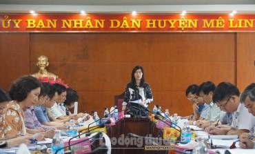 Huyện Mê Linh: Cần làm tốt công tác quản lý đất đai