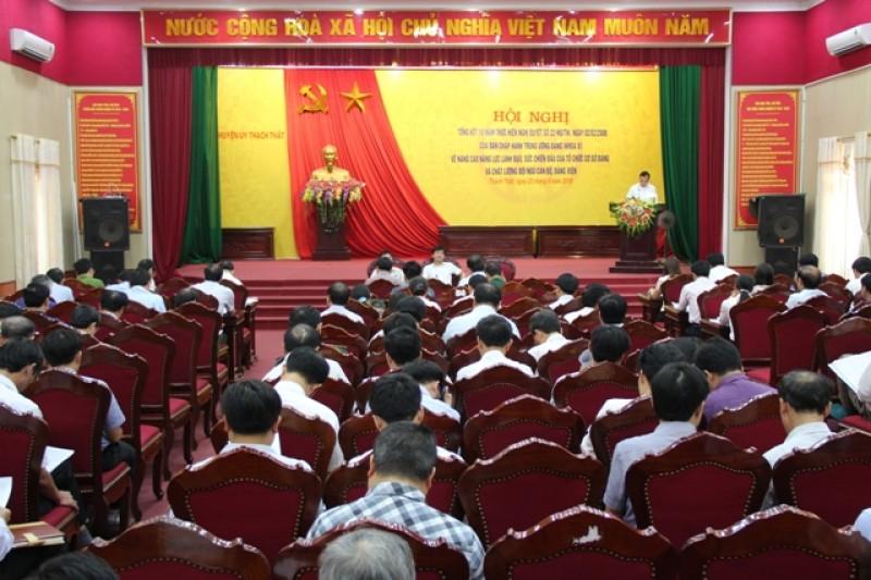 Huyện Thạch Thất: Tăng cường công tác xây dựng Đảng