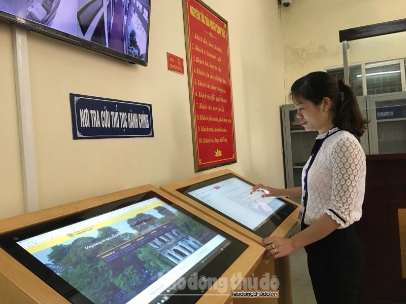Toàn Thành phố đang vận hành 502 dịch vụ công trực tuyến